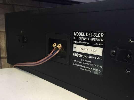 BIC America D62-3LCR Ported Center Speaker image 5