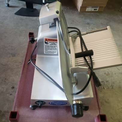 10-Inch Commercial Semi-Auto Stainless Steel Meat Slicer image 2