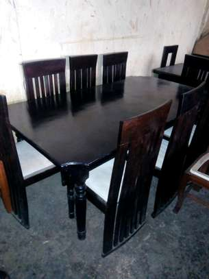 Readily available 8-sester dining table image 1