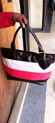 Fashion striped multicolor bag image 1