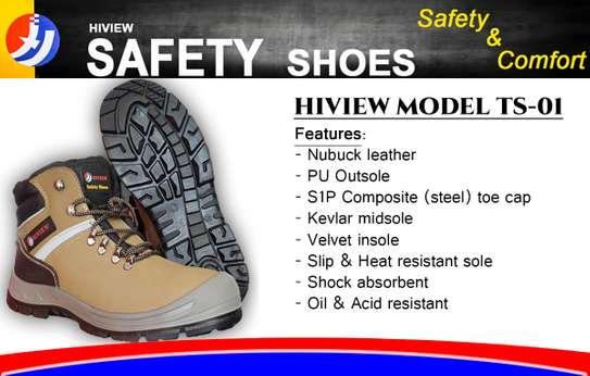 Safety Shoe No. HTS4100 (Box Of 10)