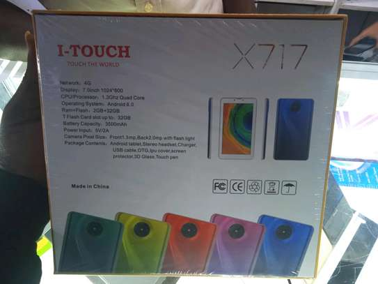 32gb 2gb ram Tablets I-Touch X17 Tablets with delivery(shop) image 1