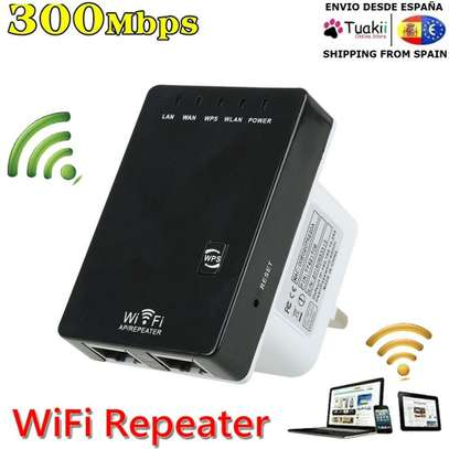 300Mbps WiFi Repeater AP Router Range Extender Signal Booster EU image 2