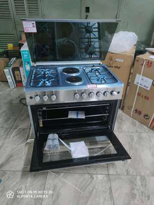 Master chef electric gas cooker and oven image 3