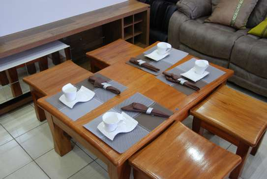 Real mahoganny coffee table image 2