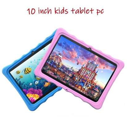 kids android tablet 10 Inch 3G Phone Call Dual SIM WIFI/BT/GPS/FM image 1