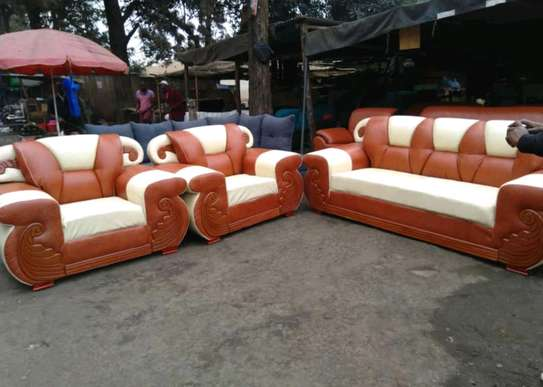Fabricated leather sofa sets