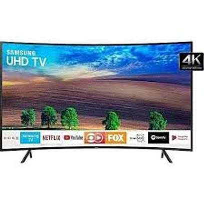 "Samsung UA49RU7300K - 49"" - 4K UHD Smart LED TV - Black - Curved"