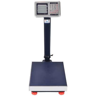150kg 200kg 300kg 600kg electronic weighing scale platform scale image 1
