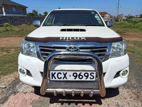 TOYOTA HILUX 4/4 DOUBLE CAB 2012