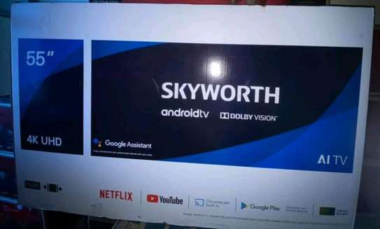Skyworth 55 smart android tv image 1