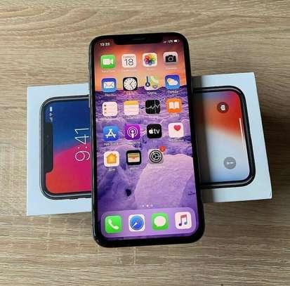 Iphone X *silver* *256gb* image 1