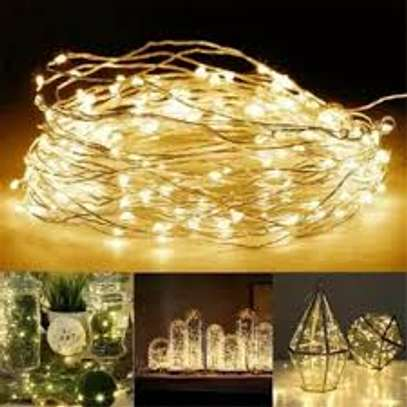 Waterproof designed Christmas string lights perfect for both indoor and outdoor  10 meters image 1