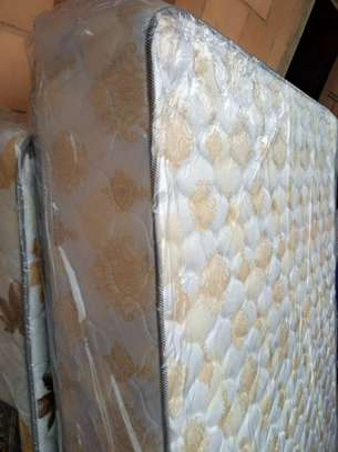 10inch thick King Size (6 by 6) Heavy Duty Quilted Mattresses. Free Home delivery. image 2