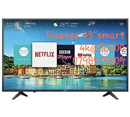 """Brand new hisense 43"""" smart led 4k tv available in my shop image 2"""