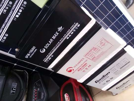 Dry Solar Battery 12V..200ah image 1