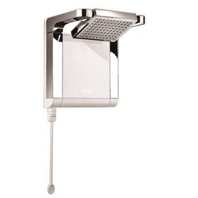 Lorenzetti Acqua Star instant shower water heater White & Chrome