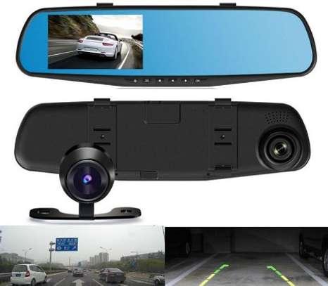 DVR Dash Cam And Rear Camera image 1