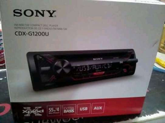 Sony CDX D1200U Car Radio image 1