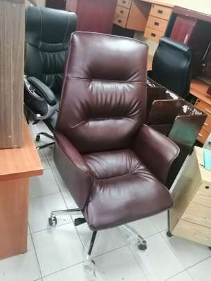 Executive high back office chair image 1