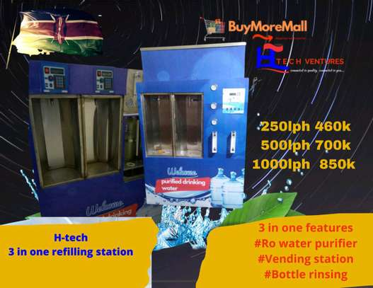 3 in 1 water vending station image 1
