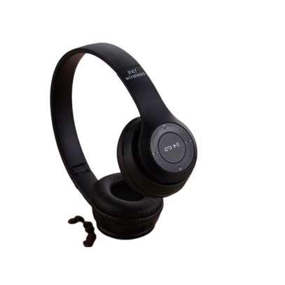 P47 Bluetooth Headphone Wireless image 1