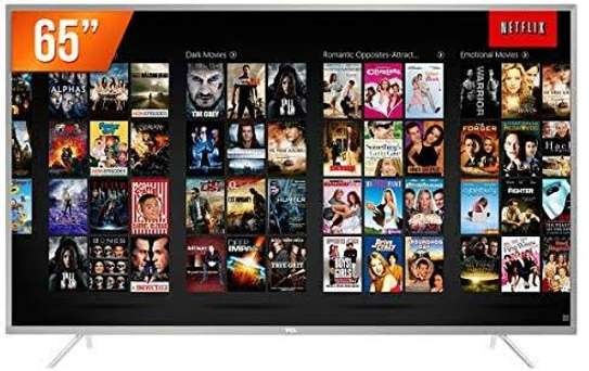 TCL 65 inch smart Android 4k image 1