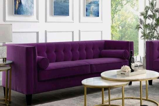 Purple sofas/three seater sofas for sale in Nairobi Kenya/modern sofas/Unique sofa image 1