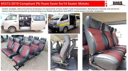 Boss Customz: Matatu Seats In Nairobi