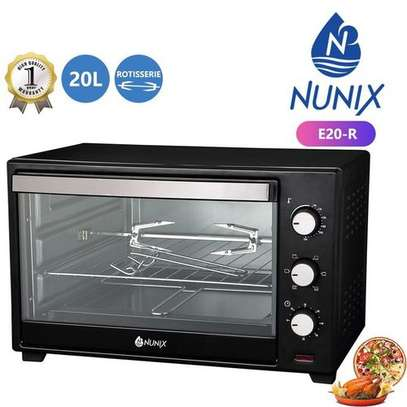 Nunix 20L Nunix Electric Rotisserie Oven With Free Baking Tray. image 1