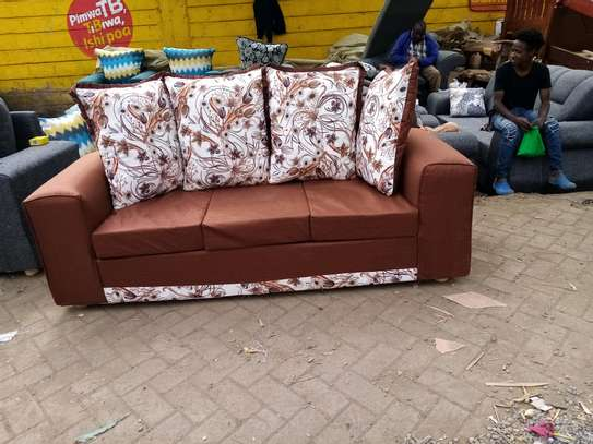 Affordable three seater sofa set image 1