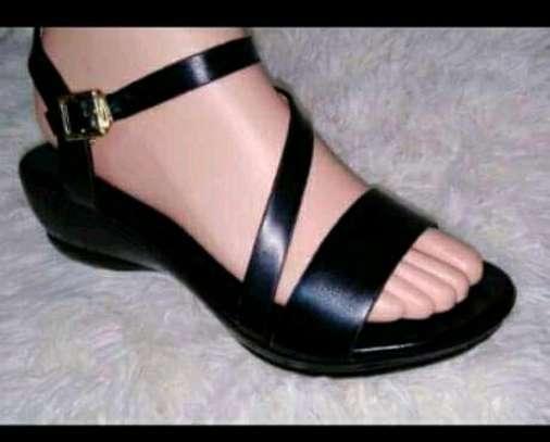 Double sole Flat Open shoes image 2