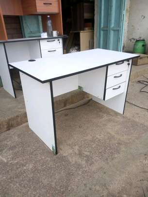 An office desk with right hand drawers image 1