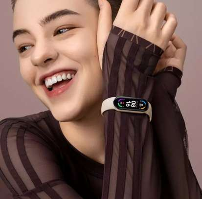New M6 Smart Watch Fitness Tracker Band Bracelet Waterproof For Mi Trending New Arrivals Wholesale Wristband image 5