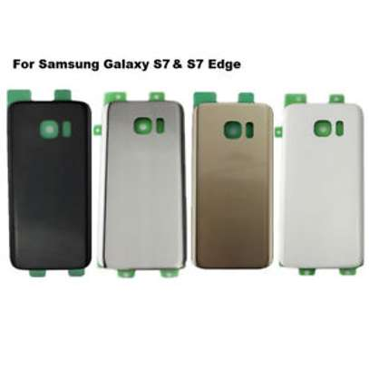 Battery Cover Replacement Back Door Housing Case For Samsung Galaxy S7 Edge image 6