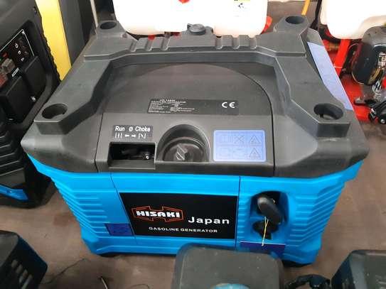 Hisaki 1kva silent  power generators image 3