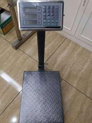 300KG 50kg Electronic Computing Digital Platform Scale image 1