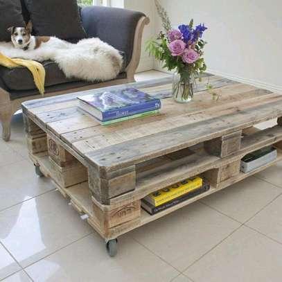 Pallet coffee tables/pallet tables/coffee tables/pallet furniture image 1