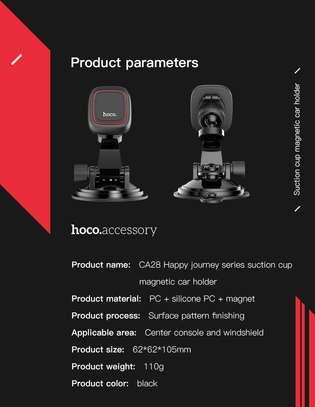 Hoco CA28 Premium Suction Magnetic Dashboard Phone Holder image 7