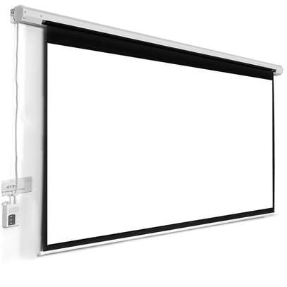 "Electric Projection Screen 96""*96"" image 1"