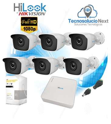Hilook By Hikvision 6 CCTV 1080p (2MP) Cameras Kit (Ultra HD - 20m Night Vision) image 1