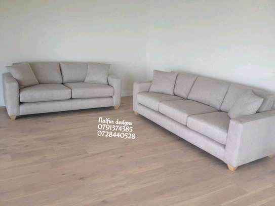 Three seater sofa+two seater sofa/modern livingroom sofas image 1