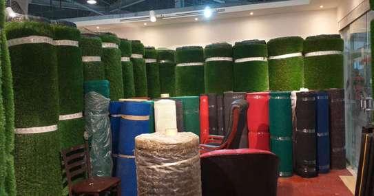 Indoor/Outdoor Artificial Grass Turf Area Rug image 2