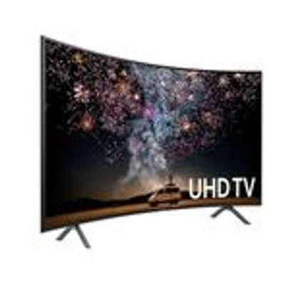 "Samsung 49RU7300, Series 7, 49"", Curved Smart 4K UHD TV - Black image 1"