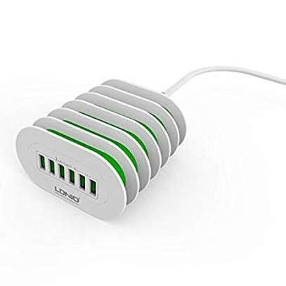 LDNIO A6702 6 USB 5V / 7.0A Quick Charge Desktop Charger image 4