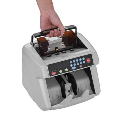 Note Counting Machine with Fake Note Detection UV/MG image 1