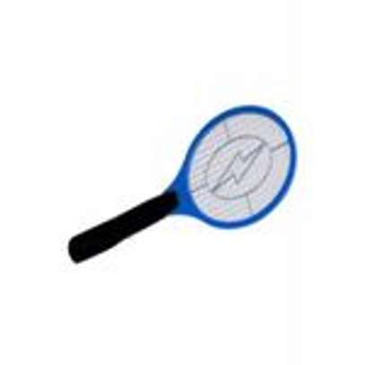 Rechargeable Electronic Mosquito Racket - Blue image 3