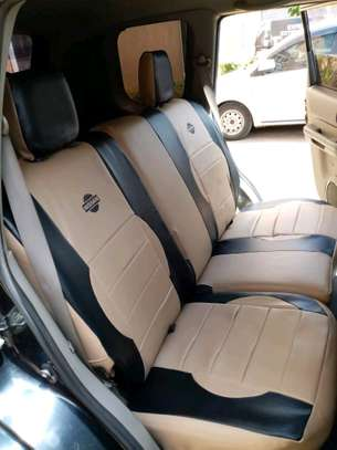 NISSAN DURABLE CAR SEAT COVERS image 2