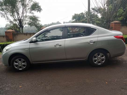 Nissan Latio 2013 foreign used
