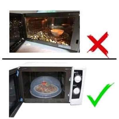 microwave plate cover image 2